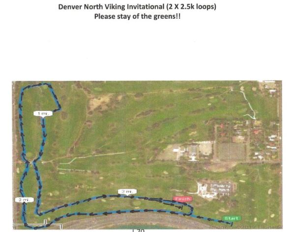 Denver North Viking Course Map