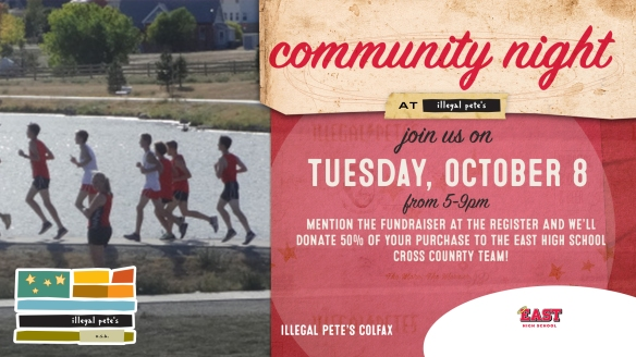 Colfax East High School Cross Country Fundraiser SCREEN